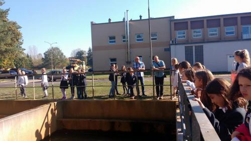 Wycieczka edukacyjna do Zakładu Uzdatniania Wody